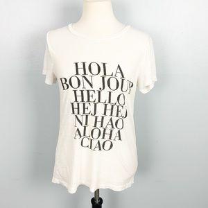 J. Crew | Hello T Shirt